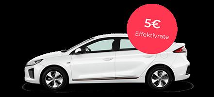 Gewerbe: Hyundai IONIQ Elektro in Polar Weiß mit 136 PS für rechnerisch 5,22€ mtl.   LF 0.02