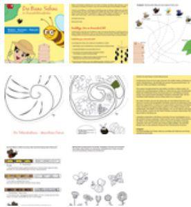 Kostenlose Mitmachpakete zum Thema Biene + Bausatz zzgl. 6,90€ Versandkosten