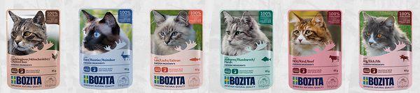 Bozita: Katzenfutter Probe kostenlos erhalten