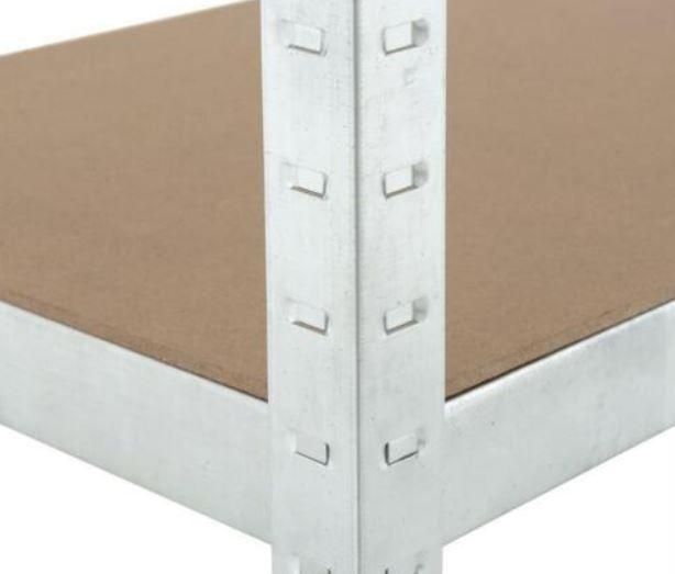 ESTEXO Steckregal 200x100x50cm max 875kg für 29,95€ (statt 37€)