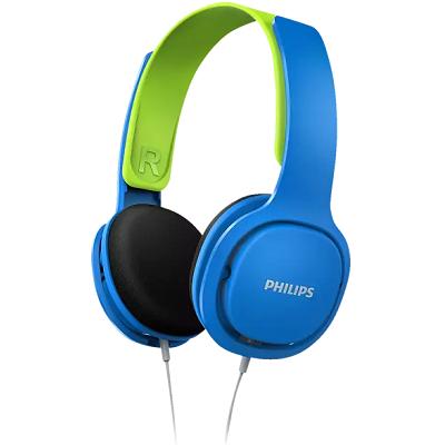 2 x PHILIPS SHK2000BL/00 On ear Kopfhörer in Blau/Grün für 15€ (statt 30€)