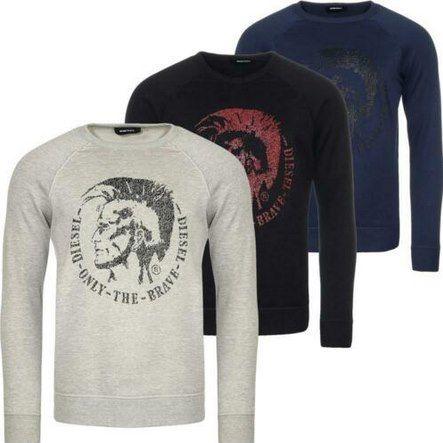 Diesel Pullover S Orestes New in 3 Farben für je 44,95€ (statt 50€)