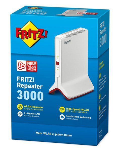 AVM FRITZ!WLAN Repeater 3000 für 91,99€ (statt 115€)