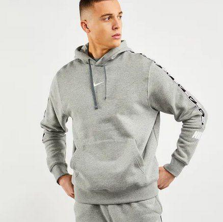 Nike Repeat Poly Over The Head Herren Hoodie in Grau für 29,99€ (statt 54€)