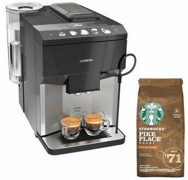 Siemens TP503D04 EQ.500 Classic Kaffeevollautomat + Starbucks Kaffee für 459,90€ (statt 495€)