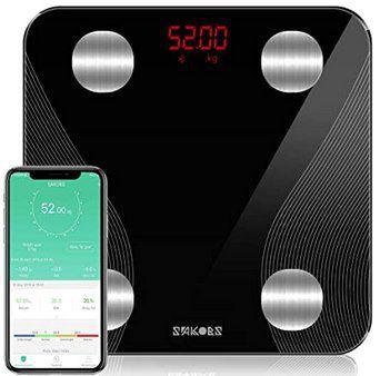 Sakobs smarte Körperfettwaage mit App-Anbindung für 23,67€ (statt 37€)