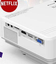 MVV M8 TPA   720p LED Beamer mit 5.500 Lumen für 69,99€ (statt 100€)