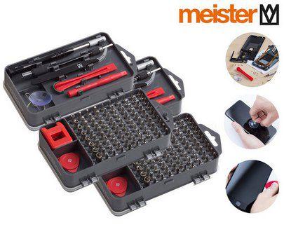 2x Meister 3387780 Feinmechaniker Set mit je 108 Teile für 23,90€ (statt 28€)