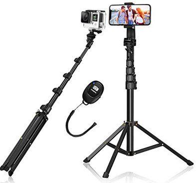 BlitzWolf STB1 Bluetooth SelfieStick & Stativ mit Fernbedienung für 18,89€ (statt 27€)