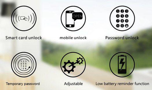 WE.LOCK intelligenter elektr Türschlosszylinder mit PIN, Bluetooth & RFID für 69,99€ (statt 120€)