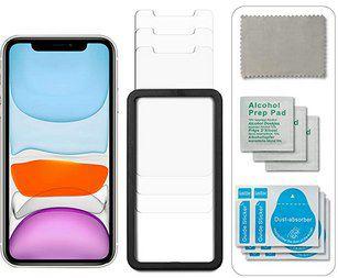 3er Pack: Novaest Panzerglas für iPhone X, XS, XR, 11 & älter für 3€   Prime