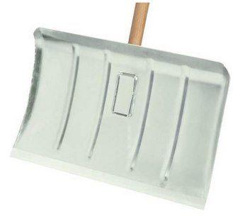 Alu Schneeschieber (50cm) mit Hartholzstiel & Verstärkungsrippen für 24,90€ (statt 30€)