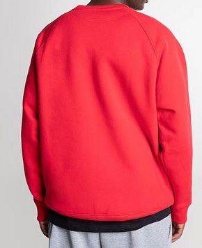New Balance Pullover Athletics Premium Archive Crewneck in Rot für 23,99€ (statt 35€)