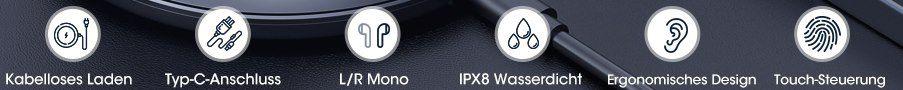 Mpow M12 BT 5.0 TWS InEar Kopfhörer mit bis zu 25h Spielzeit für 20,99€ (statt 30€)