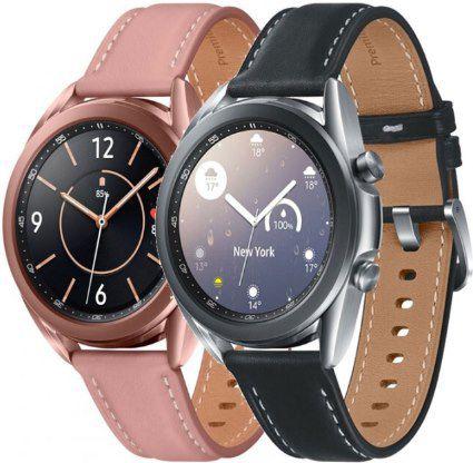 Samsung Galaxy Watch3 41mm Smartwatch in 2 Designs ab 189€ (statt 222€)