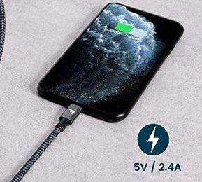 Rampow Lightning Kabel (zertifiziert) in Grau und 3 Meter für 10,79€ (statt 18€)   Prime