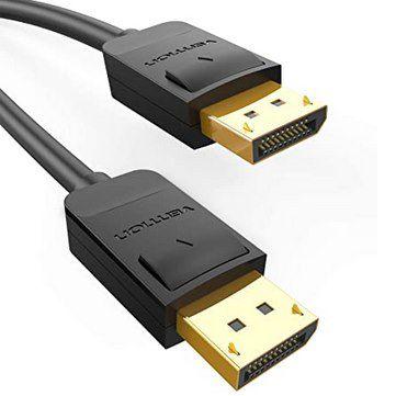 55% Rabatt auf Vention DisplayPort Kabel z.B. 1,5m für 6,75€ (statt 16€) – Prime