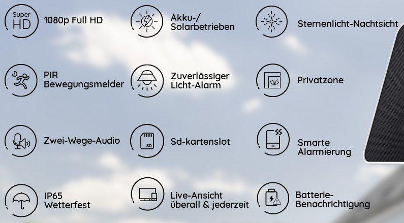 Reolink Argus 3 IP Überwachungskamera mit Solarpanel für 113€ (statt 162€)