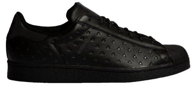 adidas Originals Pharrell Williams Superstar Sneaker in Schwarz für 63,20€ (statt 110€)