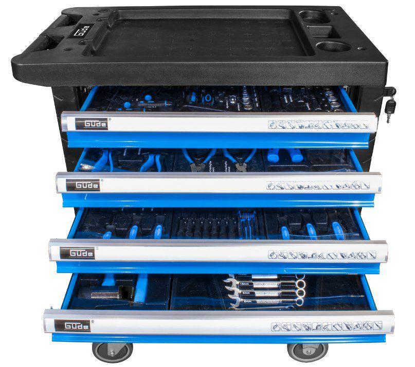 Güde Werkstattwagen Premium GWSP 07 inkl. Zubehör (250 Teile) ab 279€ (statt 380€)