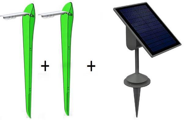 Lutec SUN CONNEC FLAME Set aus 2 Leuchten & Solarpanel für 19,99€ (statt 114€)