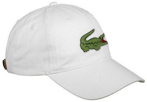 Lacoste Snapback Cap Casquette in Weiß für 23,99€ (statt 36€)