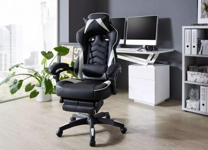 LIVETASTIC Schreibtisch  Gamingstuhl für 88€ (statt 139€)