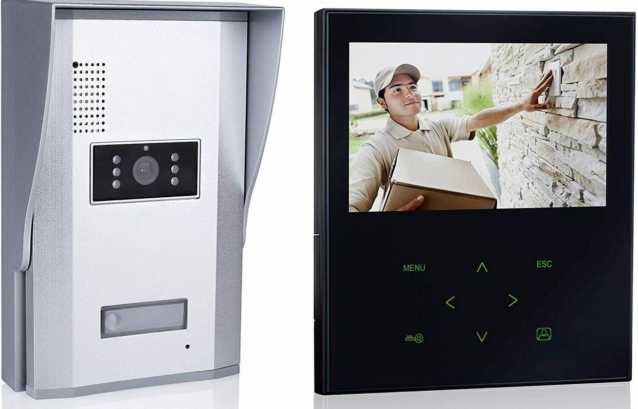 Smartwares VD71Z Türklingel mit Kamera + Monitor für 99,99€ (statt 190€?)