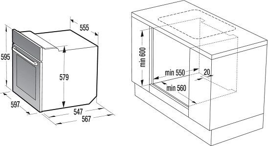 Gorenje Inox Set HL Einbauherdset (BC737E114X + ECD643BSC) ab 352,90€ (statt 419€)