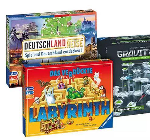 Ravensburger Gutscheine für Spiele, Puzzles und mehr: z.B. 60€ Gutschein für 39,95€