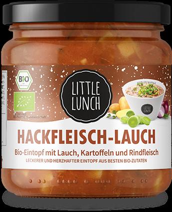 Little Lunch Hackfleisch Lauch Bio Eintopf für 2,10€ (statt 2,99€)   keine VSK ab 17 Stück