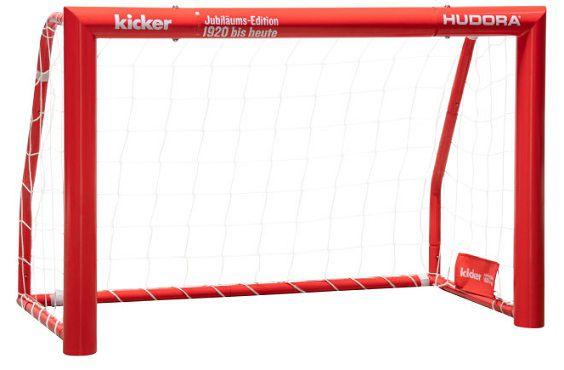 Hudora Fußballtor Expert 120   Kicker Edition für 59,99€ (statt 79€)