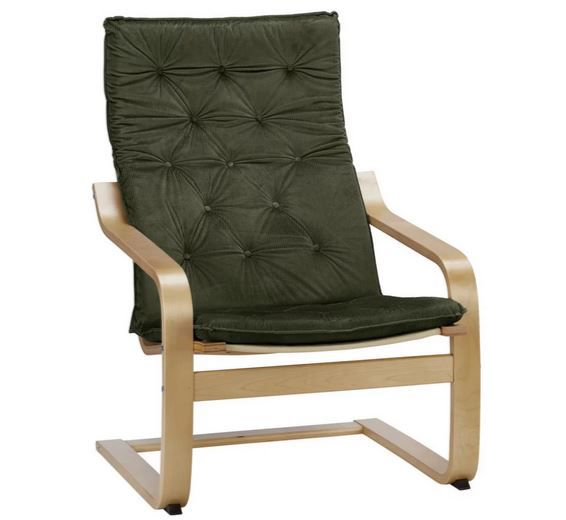 "Bessagi Jacopo ""Design"" Sessel aus Birkenholz für 90,50€ (statt 179€)"