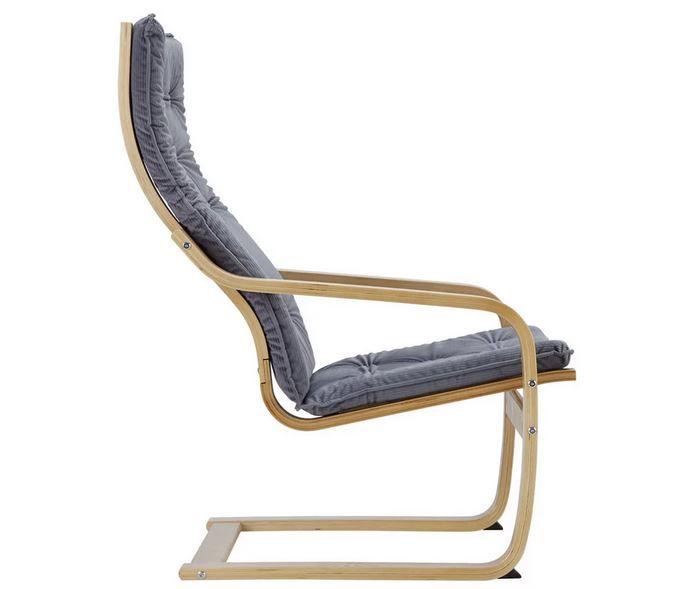 Bessagi Jacopo Design Sessel aus Birkenholz für 90,50€ (statt 179€)