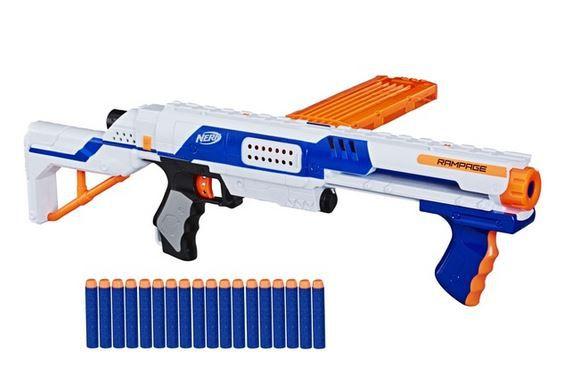 NERF N Strike Elite Rampage Reichweite bis 27m für 24,99€