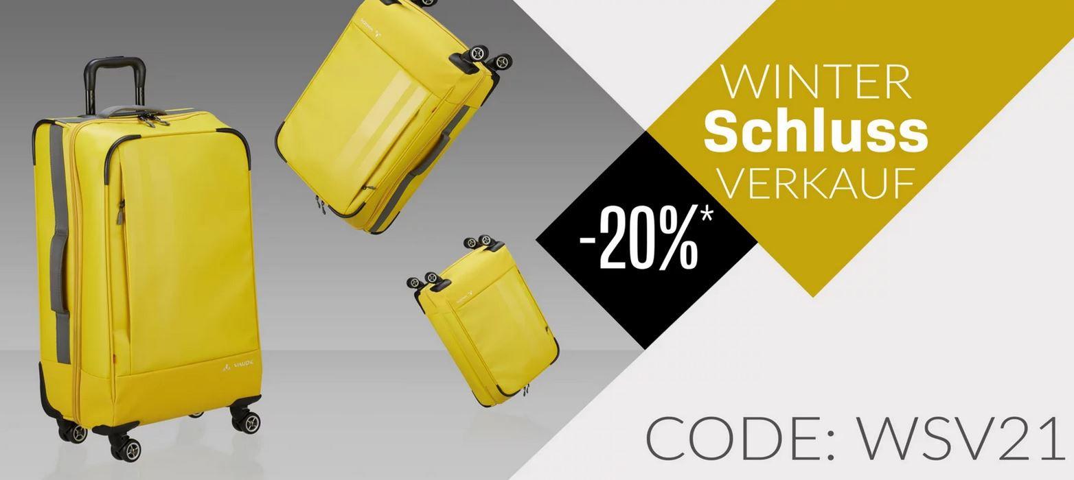 Koffer Direkt WSV bis 20% extra Rabatt im Sale + 5% bei Vorkasse