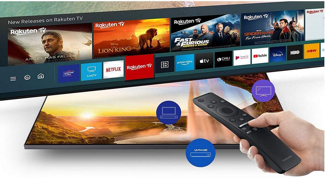 Samsung Crystal GU65TU8079 UHD Fernseher für 666€ (statt 739€)