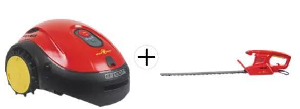 Wolf Garten LOOPO S500 Connect Mähroboter + WOLF GARTEN Heckenschere für 489€ (statt 585€)