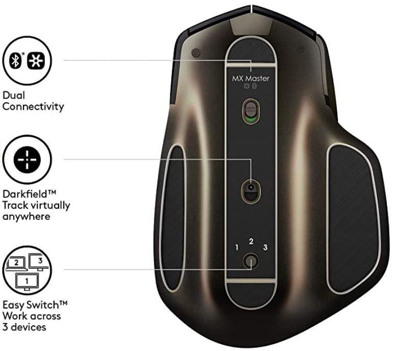 Logitech MX Master   kabellose Maus für Windows & Mac für 54,99€ (statt 73€)