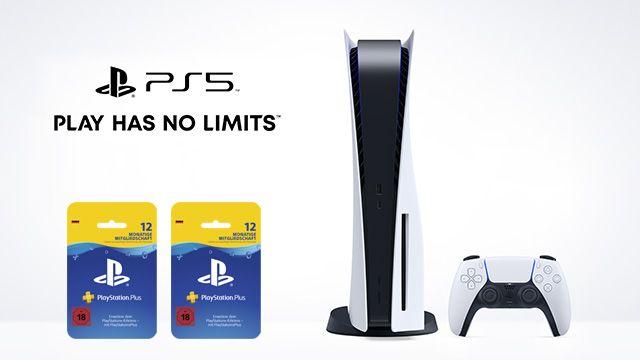 PlayStation 5 Disc Version + 24 Monate PlayStation Plus für 99,99€ + Telekom/Vodafone Flat bis 15GB LTE 41,99€mtl.