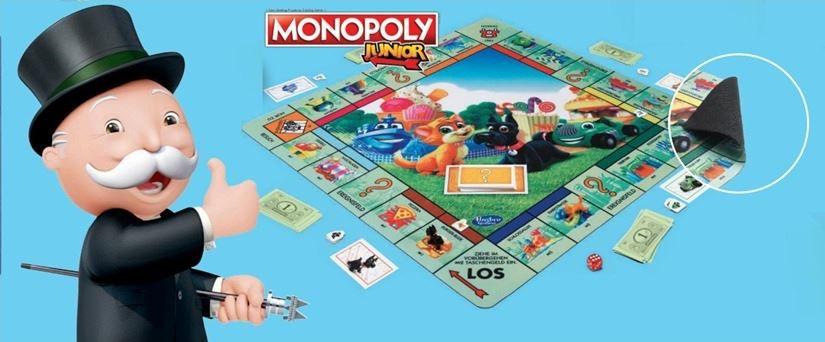 Monopoly Junior und/oder Cluedo XL Spielmatten für 9,99€ (statt 20€)