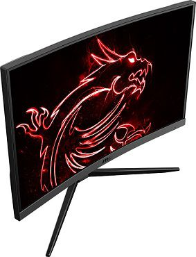 MSI Optix G24C4   24 Zoll Full HD Curved Monitor mit 144Hz für 169€ (statt 196€)