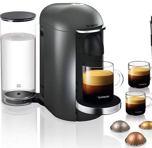 Krups Nespresso Vertuo Plus XN900T Kapselmaschine für 79,99€ (statt 110€)