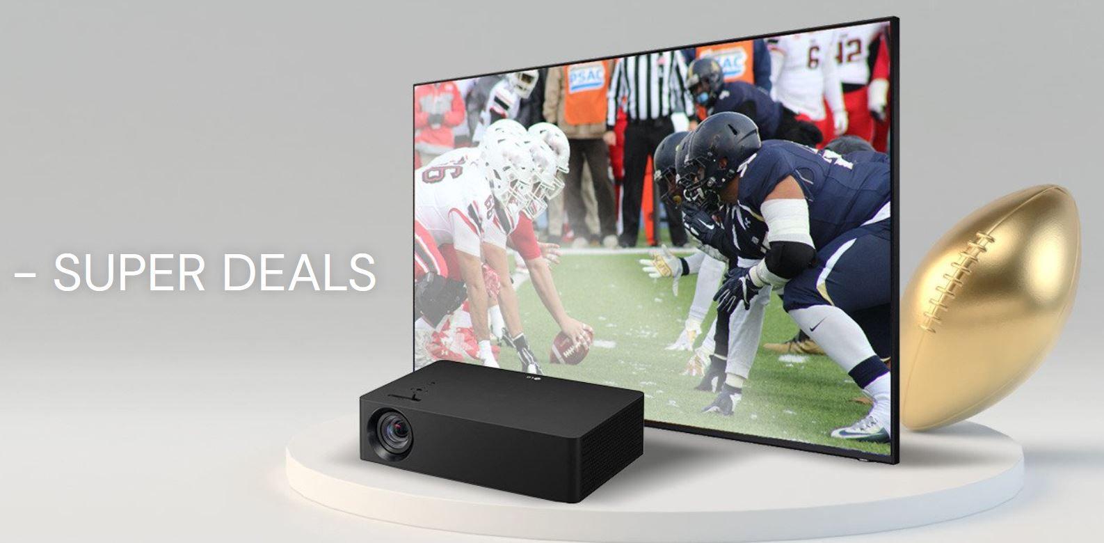 Office Partner Super Bowl Angebote: extra Rabatt auf Beamer, Leinwände, Displays & Co