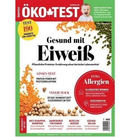 Öko Test Jahresabo für 63,60€ + 50€ Amazon Gutschein