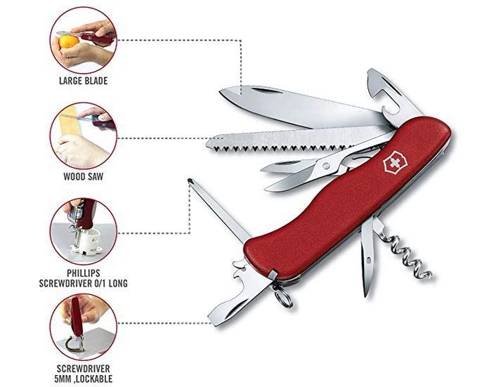 Victorinox Outrider Taschenmesser für 29,90€ (statt 35€)