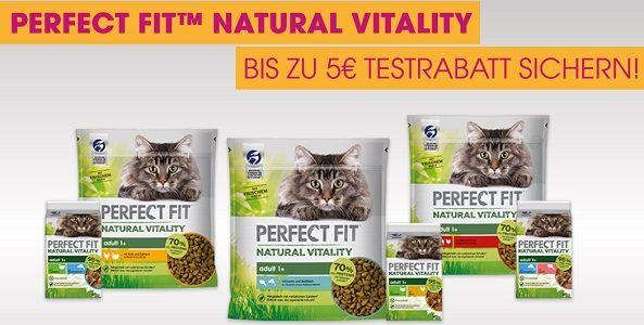 Perfect Fit™ Natural Vitality Katzenfutter gratis ausprobieren