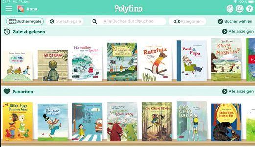 Polylino: Digitaler Bilderbuchservice aktuell gratis