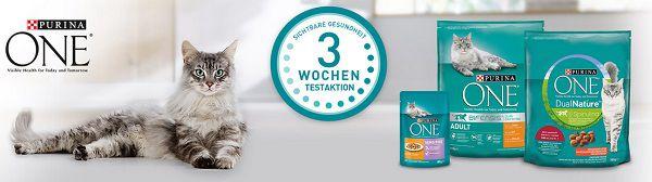 Gratis: Purina ONE® 3 Wochen Testaktion