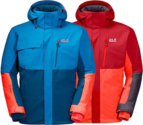 Jack Wolfskin Skijacke GREAT SNOW JACKET M in 2 Farben für je 184,95€ (statt 226€)